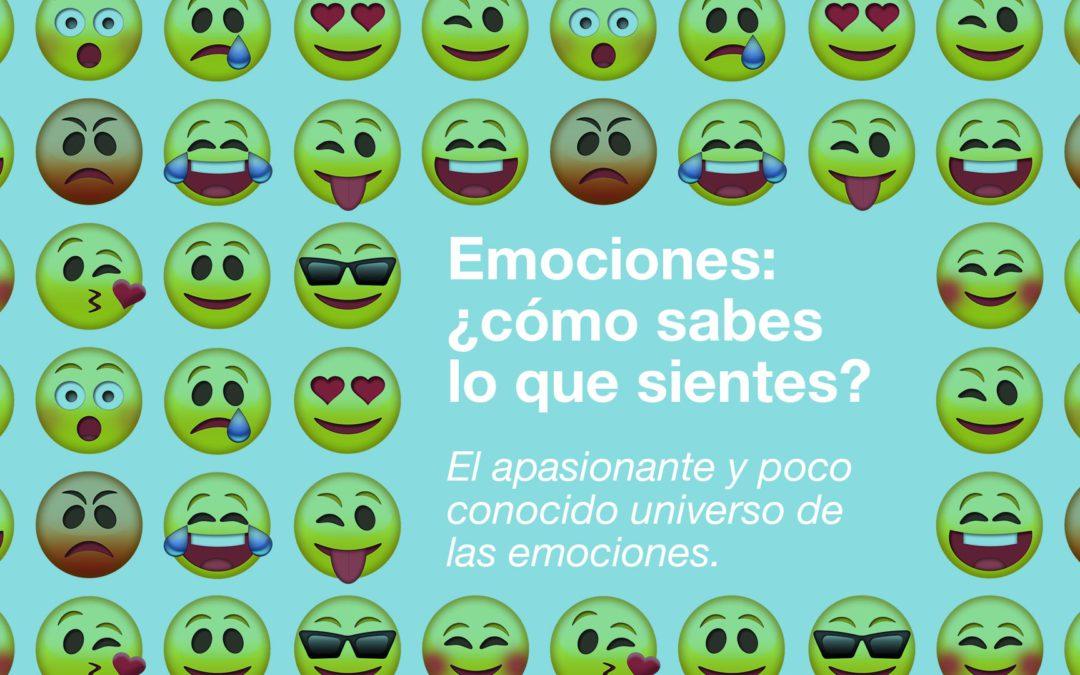 Emociones: ¿cómo sabes lo que sientes?